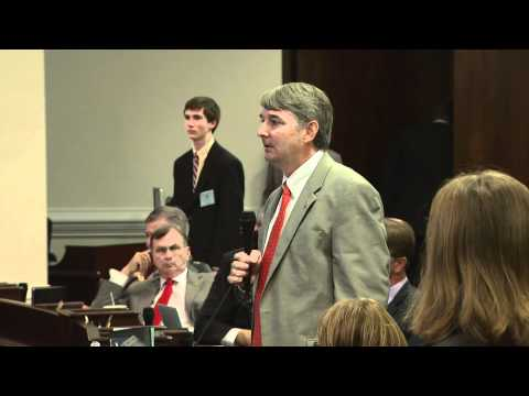 Sen Buck Newton Debates NC Gay Marriage Amendment Bill & Effort | NC Now | UNC-TV