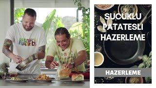Bodrum'da Bol Sucuklu Bol Patatesli Hazerleme