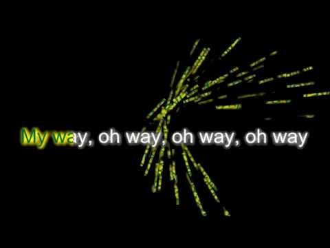 Calvin Harris - My Way   Karaoke Music Video