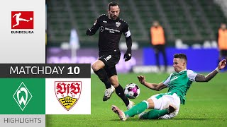 #svwvfb | highlights from matchday 10!► sub now: https://redirect.bundesliga.com/_bwcs watch the bundesliga of sv werder bremen vs. vfb stuttgart ...