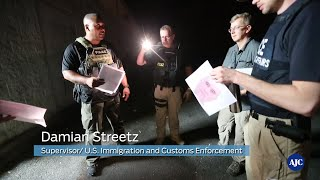 VIDEO: Ride along with U.S. Immigration and Customs Enforcement agents