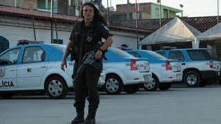Policial mulher cercada por bandidos no RJ em troca de tiros intensa (cadê as feministas???)