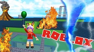 NATURAL DISASTER SURVIVAL IN ROBLOX | RADIOJH GAMES