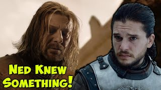 Ned Stark Predicted What Would Occur In The Battle Of Winterfell!