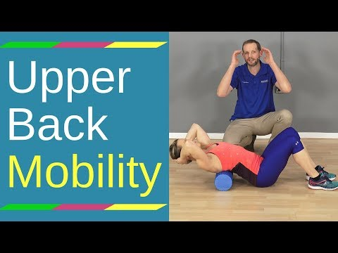 Thoracic Mobility Exercise (With Foam Roller)