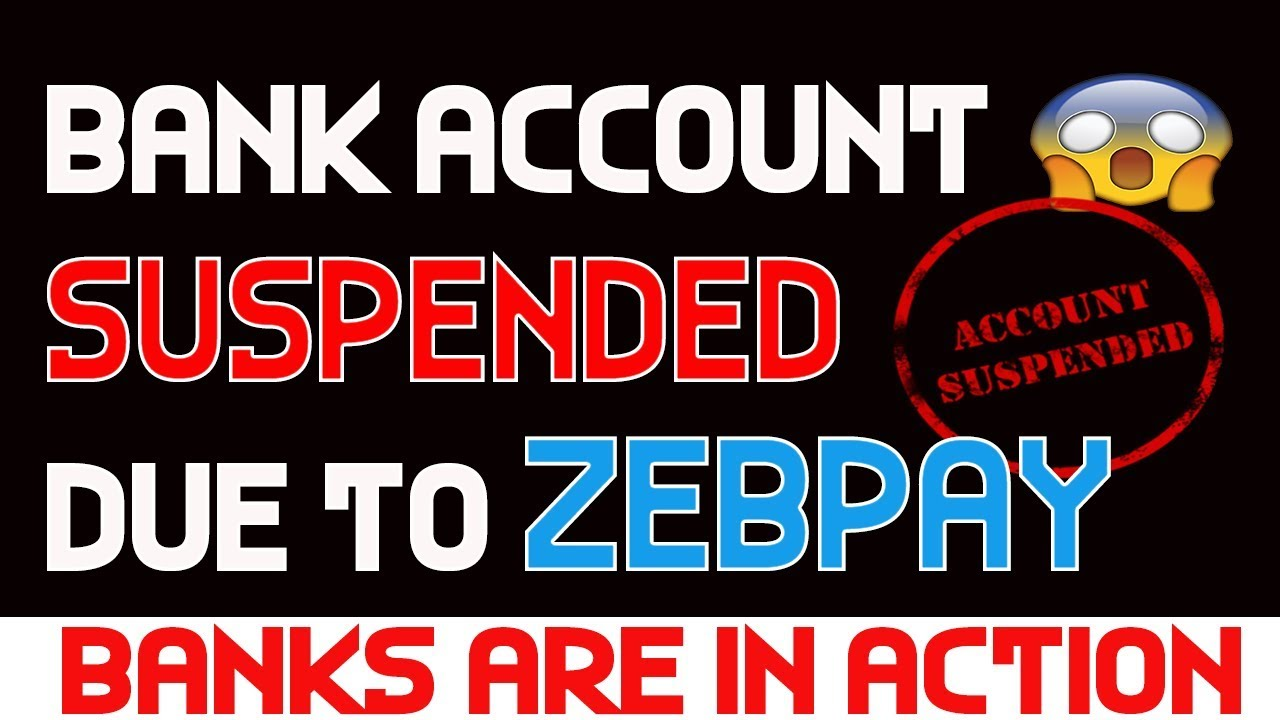 🔥 ICICI Suspends Bank Account of Crypto Holders | Bank Account Suspend Due  to Zebpay Payment