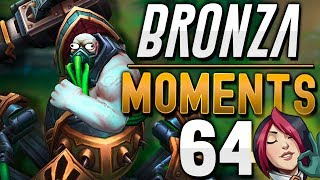 LA R de URGOT SALVA al ENEMIGO | BRONZA MOMENTS (Semana 64) League of Legends