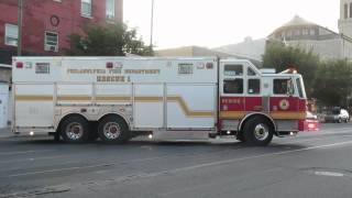 *VERY RARE* PFD Rescue 1 Responding  (YELP ON THE EQ!!)