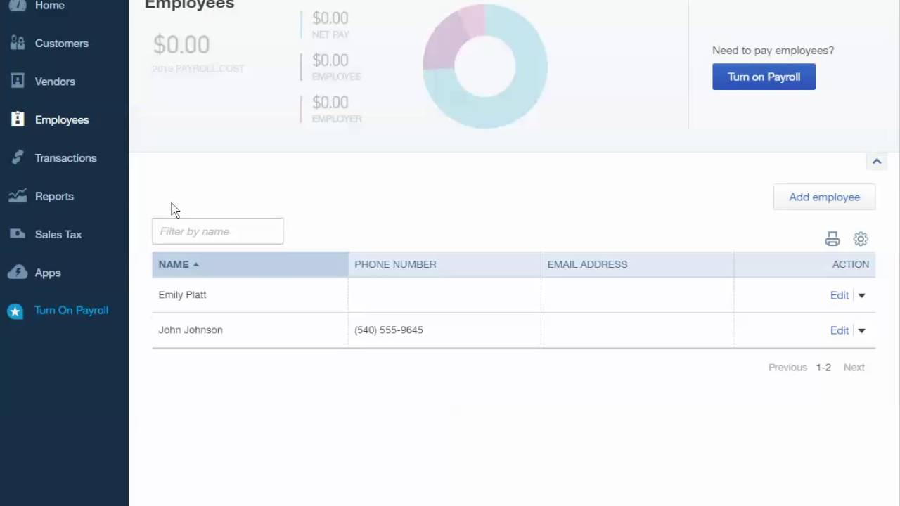 Print employee paystub using QuickBooks Online - YouTube