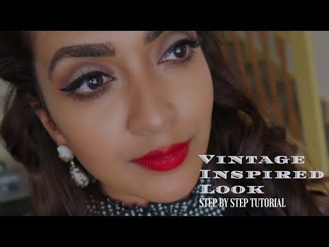 Vintage Inspired Look | Vithya Hair and Makeup Artist