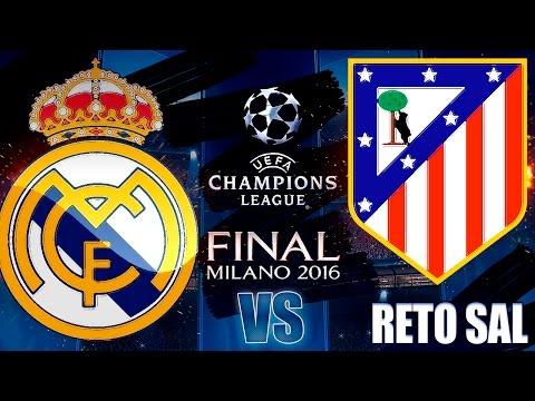 FIFA 16 | Real Madrid vs Atlético Madrid | UEFA CHAMPIONS LEAGUE FINAL SIMULACIÓN