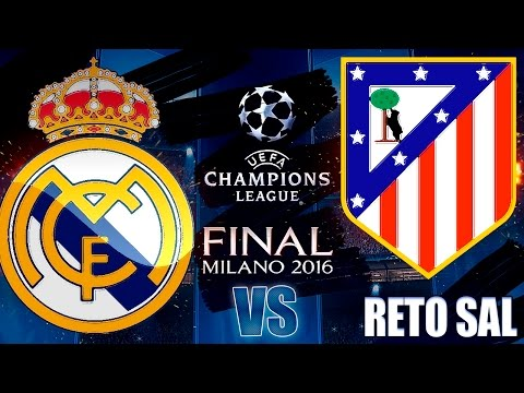 FIFA 16 | Real Madrid vs Atlético Madrid | UEFA CHAMPIONS LEAGUE FINAL
