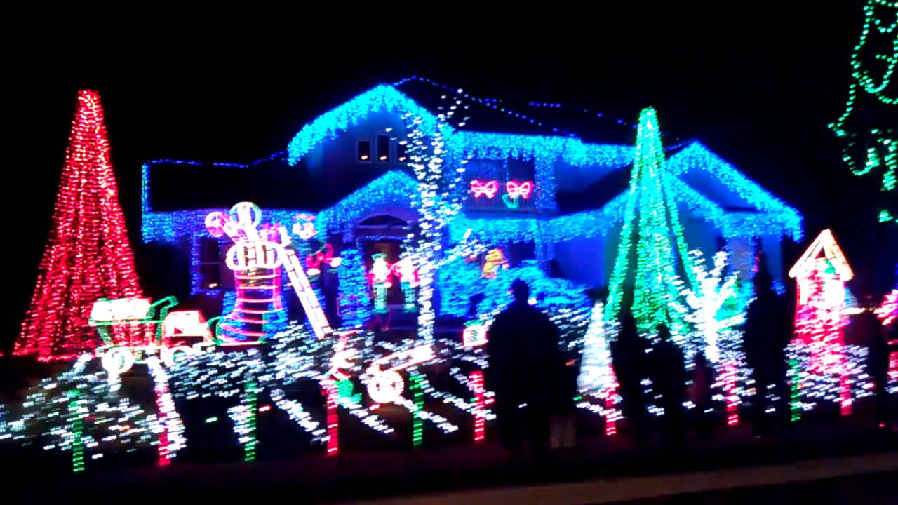Christmas lights or Sooy Lane Lights in Absecon, NJ - YouTube