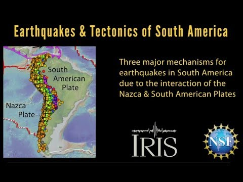 Earthquakes & Tectonics Of South America—2019 Version