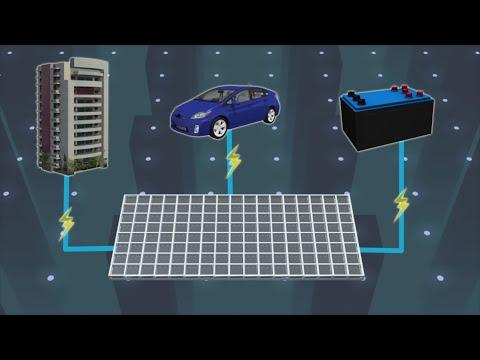 Glass blocks that can harvest solar power