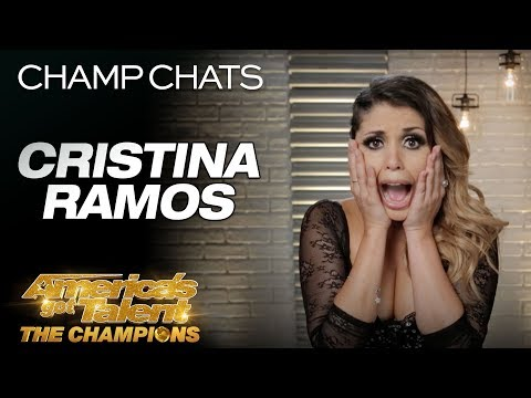 Cristina Ramos Was SHOCKED After Receiving America's Vote - America's Got Talent: The Champions