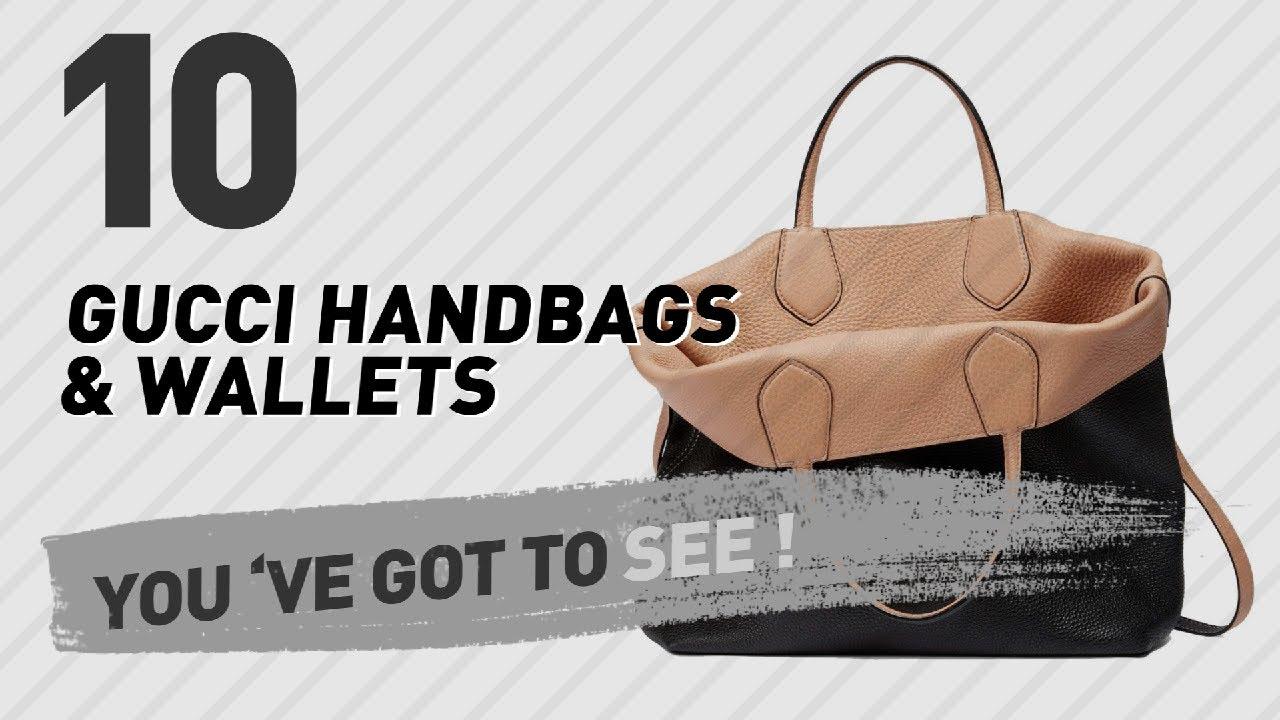945f4ea65188 Gucci Handbags & Wallets // New & Popular 2017 - YouTube