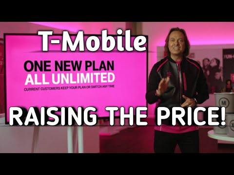 T-MOBILE RAISING THE PRICE ON ITS ONE PLUS UNLIMITED  DATA PLAN
