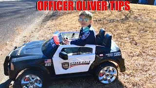 Officer Oliver Traffic Tips
