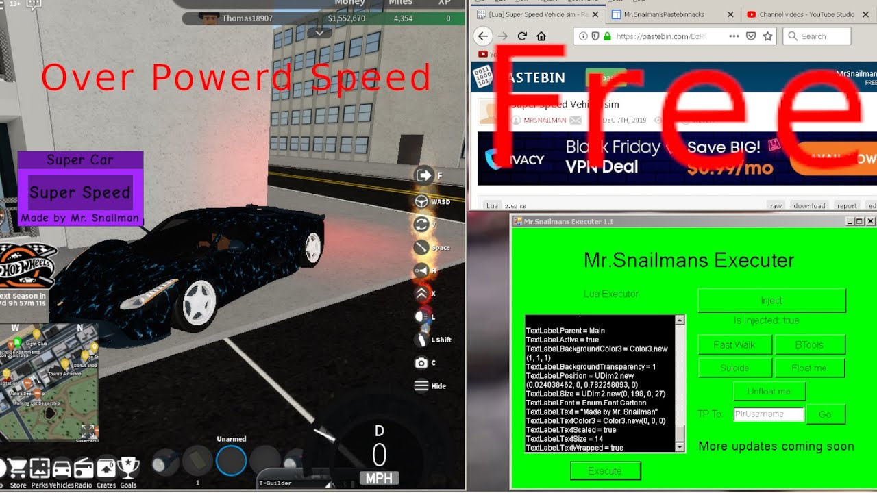 Vehicle Speed Script Pastebin