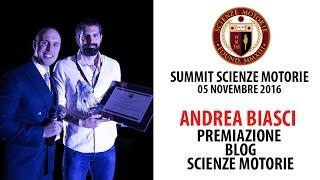 Estratto Summit: Premiazione ANDREA BIASCI Blog Innovativo Scienze Motorie