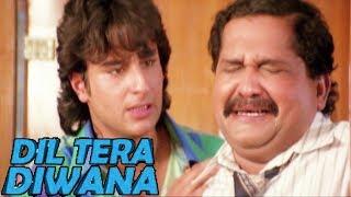 Saif Ali Khan fools his Principal - Part 1   Shatrughan Sinha   Dil Tera Diwana