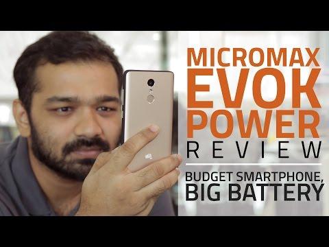 Micromax Evok Power Review Videos