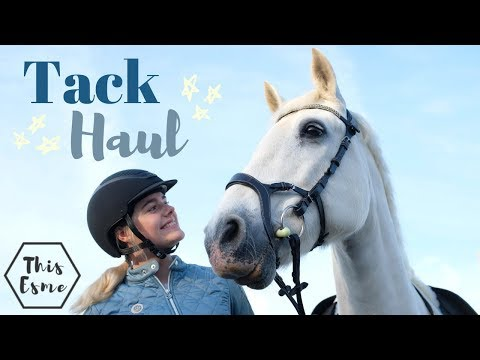 TACK HAUL | Equestrian Shopping Dream - EuroHorse | PS Of Sweden | This Esme