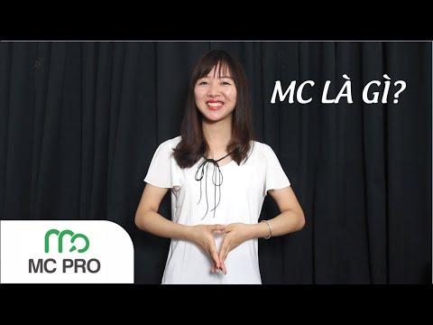 MC là gì? - Chia sẻ về nghề MC