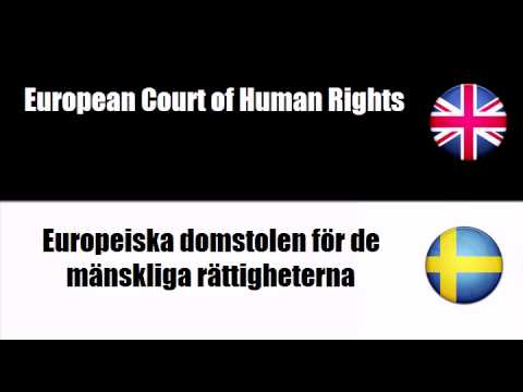 ENGLISH SWEDISH   Court of Justice of the European Communities