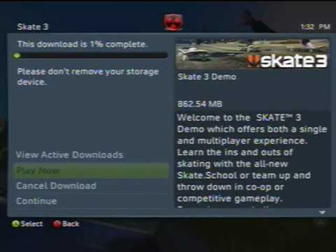 skate 3 demo free download