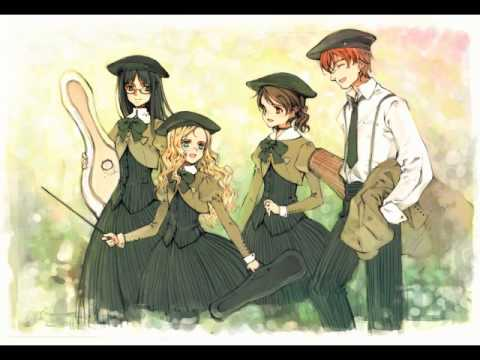 Quartett OST CD 1 Track 15 ~ Standing on Tiptoes with all my might (Charlotte's 2nd theme)