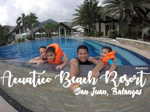 Acuatico Beach Resort, Laiya, San Juan,  Batangas