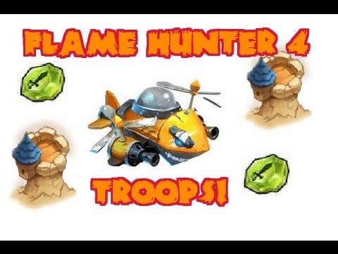 Castle Clash Flame Hunter #4 Troops!