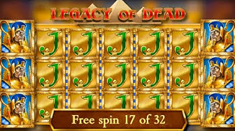 x360 win / 32 free spins! / Legacy of Dead free spins compilation! #2