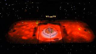 Blackhawks Stanley Cup Champions 2013 - Banner Raising Ceremony