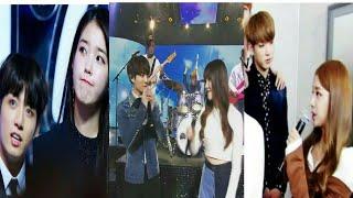 BTS JUNGKOOK CUTE MOMENT WITH GIRLS (FEMALE KPOP IDOL)