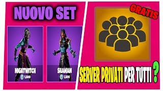 HOW TO HAVE THE PRIVATE SERVERS ON FORTNITE SHOP 31 MARCH SKIN SCIAMANO