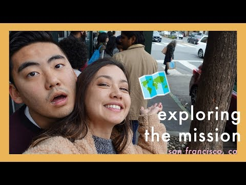 THINGS TO DO IN SAN FRANCISCO | Touring The Mission & Castro