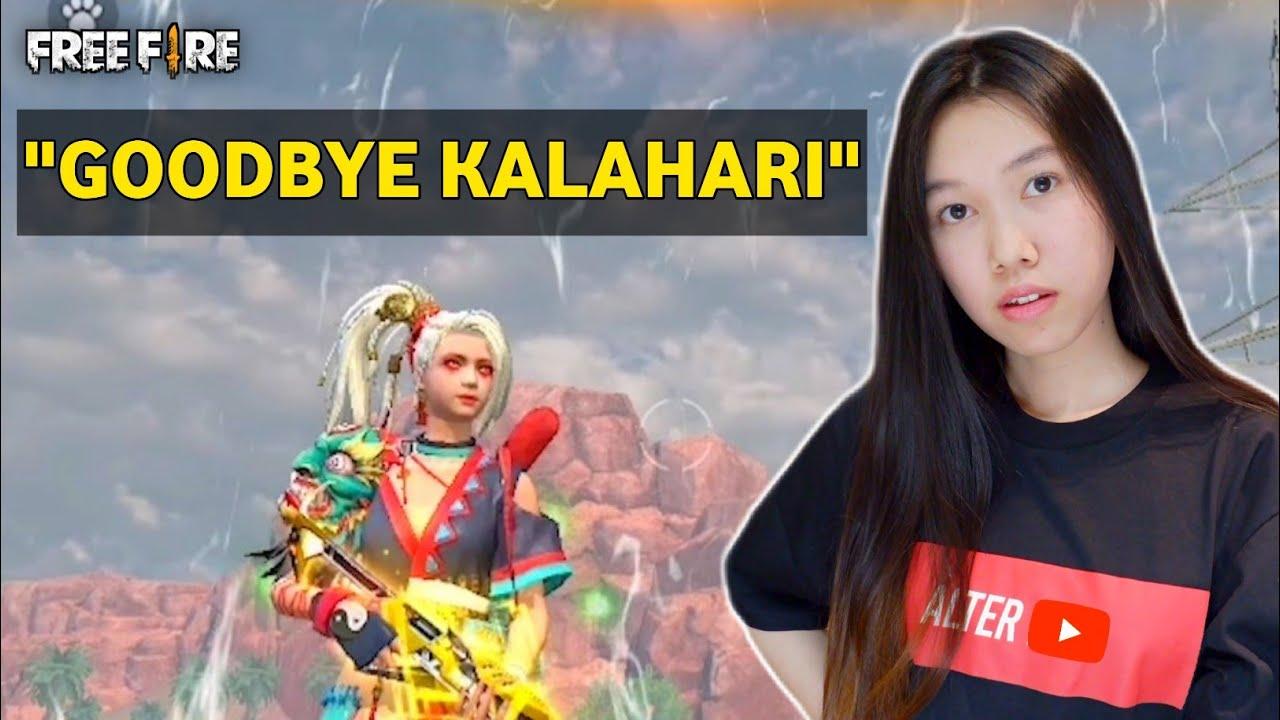 PUSH RANK TERAKHIR DI KALAHARI, KETEMU MUSUH GG - FREE FIRE INDONESIA