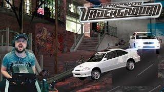 Ох*евший бот и эпичные баги в Need for Speed: Underground