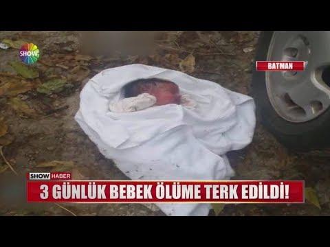3 günlük bebek ölüme terk edildi!
