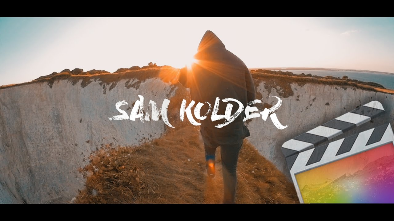 free final cut pro intro templates - sam kolder intro template for final cut pro x youtube