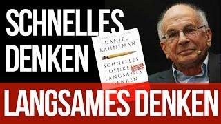 """Wie wir Entscheidungen treffen - """"Schnelles Denken, langsames Denken"""" von Daniel Kahneman"""