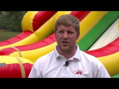 Choosing the Right Moonbounce, tips from Rommel's Ace