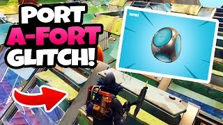 SO BUILD YOU MANY TASCHENFESTUNGEN - France PORT A-FORT GLITCH - Fortnite Battle Royale (anglais)