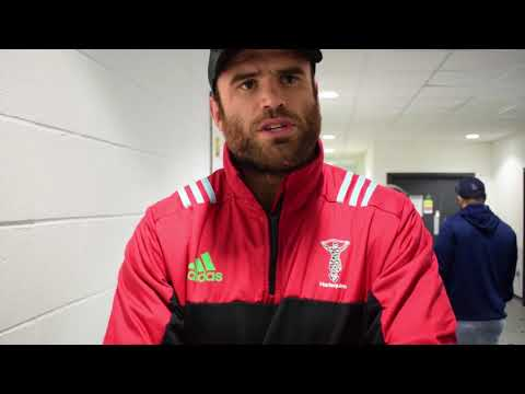 Jamie Roberts following the 30-29 loss to Sale Sharks