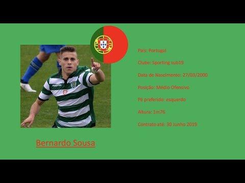 Bernardo Sousa (Sporting CP) Highlights