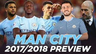 MANCHESTER CITY 2017/2018 SEASON PREVIEW