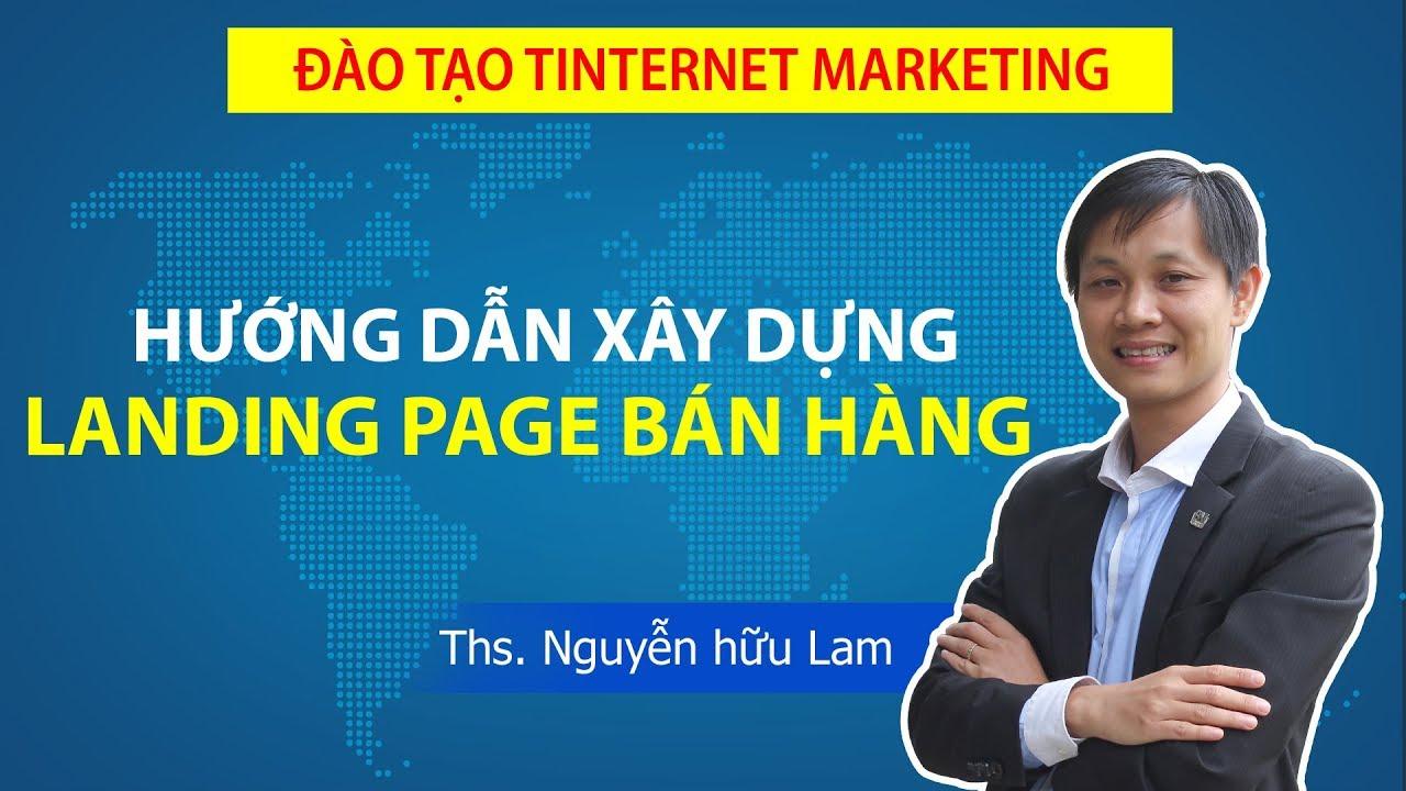 Hướng dẫn tạo Landing Page bán hàng, tạo trang web bán hàng với Ladipage.vn